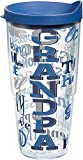 Best Dad Tumblers - Tervis 1186050 Tumbler with Wrap, 24 oz, Clear Review