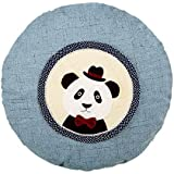 Home All-Round Cloth Fan Cover Cartoon Round Fan Ventilateur de sol Housse de protection Panda Baby