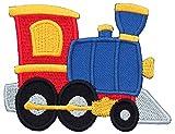 PatchMommy Patch Écusson Brodé Thermocollant en Forme de Train - Pièce Brodée à...