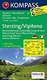 Sterzing / Vipiteno: Wanderkarte mit Aktiv Guide, Radrouten und Skitouren. GPS-genau. 1:50000: Wandelkaart 1:50 000 (KOMPASS-Wanderkarten, Band 44) -