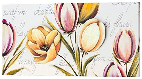 pintdecor-flowers-provence-quadro-legno-tela-multicolore-150-x-70-cm