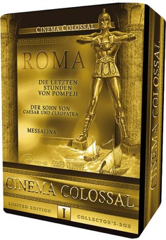 Bild von Cinema Colossal Box I - ROMA (Limited Collector's Edition, 3 DVDs) [Limited Edition]