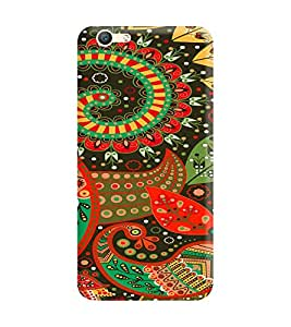 Gismo Vivo V5 Plus Cover / Vivo V5 Plus Back Cover / vivo v5 plus Designer Printed Back Case - tribal Pattern Patchwork girl girly