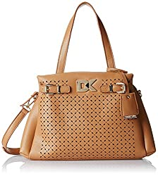 Diana Korr Womens Handbag (Beige) (DK104HBEI)
