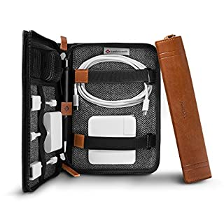 Twelve South Journal CaddySack - Bolsa de Viaje para Cargadores, Cables y adaptadores, Color coñac (B07FL3RDQ8) | Amazon price tracker / tracking, Amazon price history charts, Amazon price watches, Amazon price drop alerts