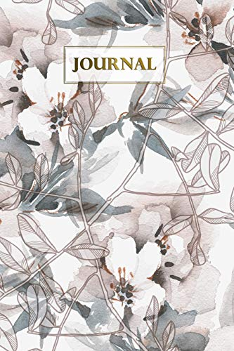 Journal: Apple Blossom Blank Paper Notebook Sketchbook Diary | Pocket (6 x 9) - Art-glas-apple