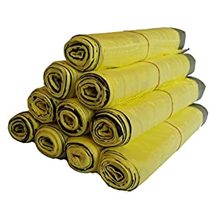 5 bis 100 Rollen Gelber Sack, Gelbe Säcke (5 Rollen)