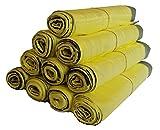 Rotoli di sacchetti gialli, 5 rotoli