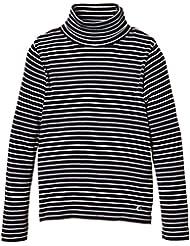 Petit Bateau 14647 - Sweat-shirt à capuche - Uni - Col roulé - Manches longues - Garçon