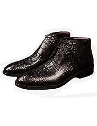 7639210742 Amazon.es  Los Cocodrilos - Piel   Botas   Zapatos para hombre ...