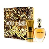Roberto Cavalli 75 ml EDP Spray +  75 ml Perfumed Body Lotion Geschenkset