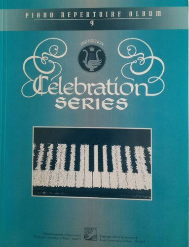 Piano Repertoire Album 9 (Celebration Series 2nd Edition) by Various (1994-05-03)