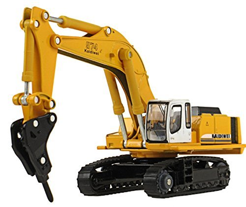 mini-butterball-1-87-die-cast-drilling-hammer-crusher-excavator-metal-simulation-car-vehicle-model-t