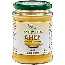 100ProBio Ayurveda Bio Ghee - geklärte Butter- Butterschmalz, 1er Pack (1 x 0.5 l)
