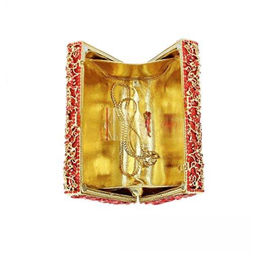 Lady Cristallo Sacchetto Di Sera I Diamanti Sacchetto Di Frizione Partito Borsa A