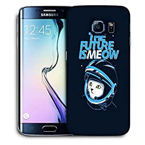 Snoogg The Future Is Me Now Designer Protective Back Case Cover For SAMSUNG GALAXY S6 EDGE