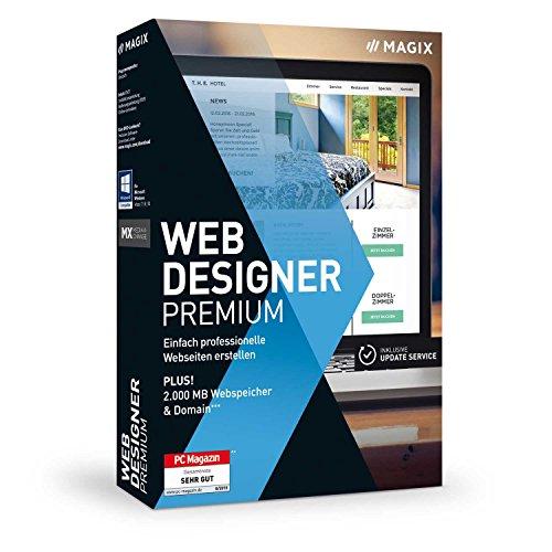 Magix Web Designer Premium | Version 15 | Professionelle Websites | selbst erstellen