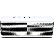 RIVA RS01S - Altavoces portátiles (Estéreo, Inalámbrico, Batería, Bluetooth, Universal, Rectángulo), Color Blanco