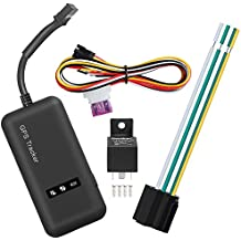Bytan GPS Localizador GPS/GSM/GPRS/SMS Satélite Tracker Antirrobo en Tiempo Real Portátil para Coche Moto Vehículo