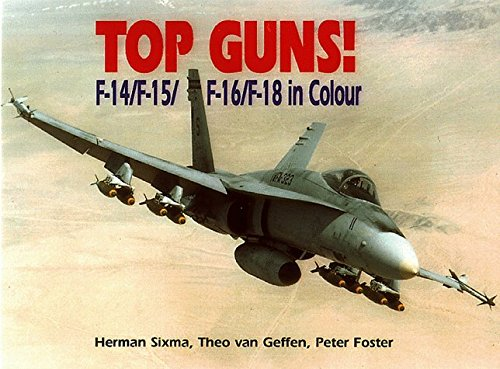 Top Guns: F-14, F-15, F-16, F-18 by Herman Sixma (1998-09-02)