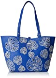 Desigual Bols_attalea Capri, Women's Shoulder Bag, Blau (Navy), 28x13x30 cm (B x H T)