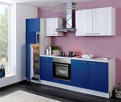 Küchenzeile Einbauküche Komplettküche mit E-Geräten Küchenblock ...
