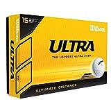 2016 Wilson Staff Ultra LUE Ultime Distance 2 Pièces Hommes Balles de Golf Paquet de 15