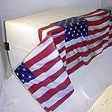 Décoration de Table Drapeau Amérique Nappes USA Drapeau Linge de Table nappé décoration États-Unis décoration d'ambiance états-uniens Nappes lavables fête thème américain Accessoires soirée U.S.A.
