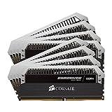 Corsair Dominator Platinum DDR4 Hochleistungs-Arbeitsspeicher Kit (mit Dominator Airflow RGB LED Kühler, 128GB (8x16GB) 2666 MHz C15 XMP 2.0)