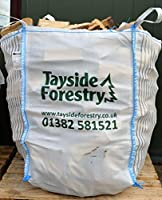 Bulk Bag of Premium Seasoned Kiln Dried Firewood Logs 0.8m3 for Open Fires, Stoves, Log Burners, Chimineas, Fire Pits
