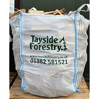 Bulk Bag of Premium Seasoned Kiln Dried Firewood Logs 0.8m3 for Open Fires, Stoves, Log Burners, Chimineas, Fire Pits