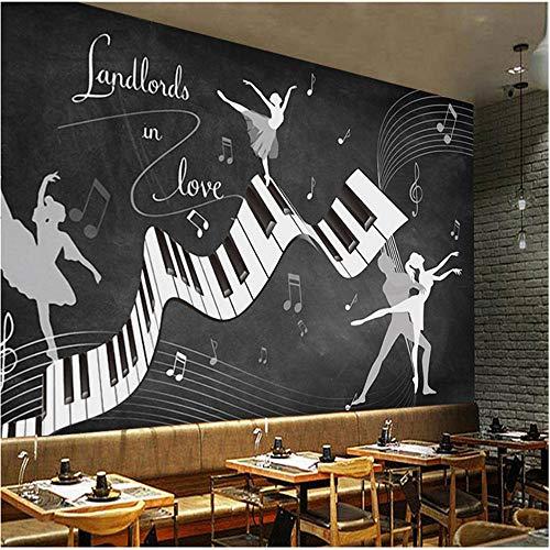 Qbbes Individuelle Fototapeten Retro Vintage Ballett Kostüm 3D Wand Wohnzimmer Sofa Tv Hintergrund Wand Wasserdichte Fresko 3D (Gestalten Sie Ihr Eigenes Kostüm)