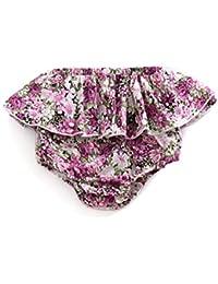 Baby Basic Bloomers Cubierta de pañales para bebé, niños y niñas, pantalones cortos en la parte inferior