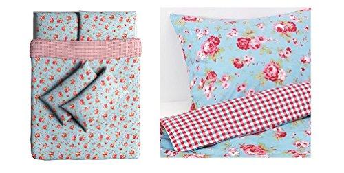 ikea bettw sche rosali blau my blog. Black Bedroom Furniture Sets. Home Design Ideas