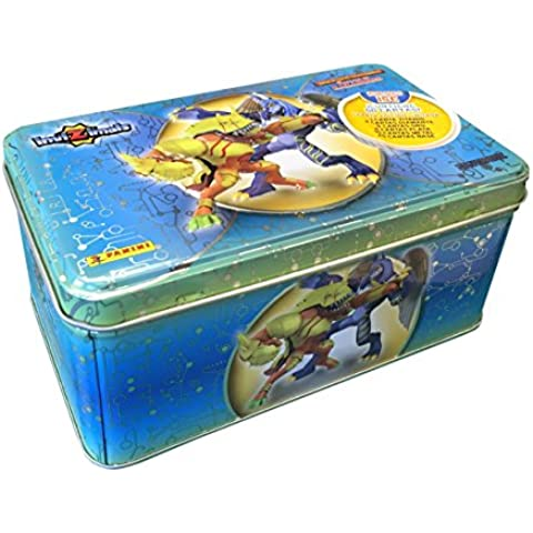 Invizimals - Caja metálica Tin box Silver , multicolor (Panini 002989TINESB)