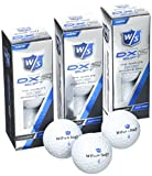 Wilson Golf WGWP37300 Set de 12 balles de golf Blanc
