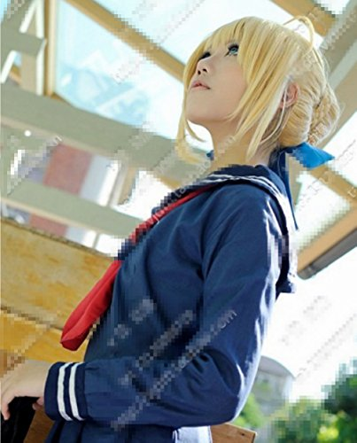 mzcurse-style-short-fate-zero-saber-blonde-party-costume-cosplay-hair-wig-with-bun