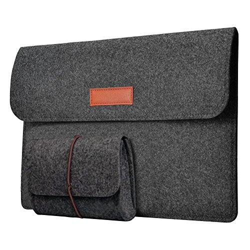 15-15,4 Zoll Filz Sleeve Hülle Notebook Laptop Tasche für 15″-15.4″ Schwarz