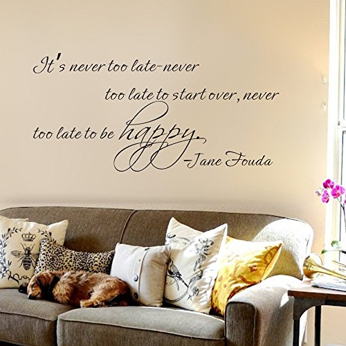 jane-fouda-its-never-too-late-to-start-plus-de-chambre-sticker-mural-vinyle-personnalise-28hx58w