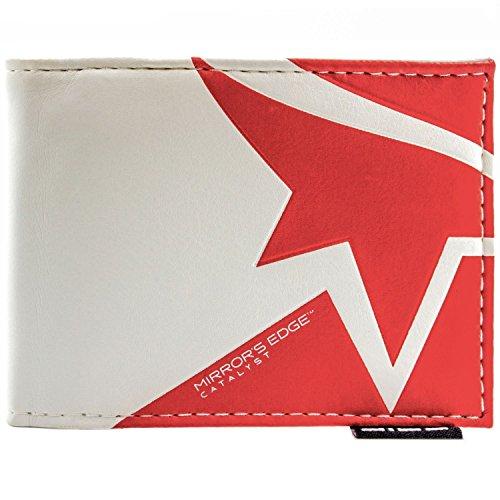 EA Mirror's Edge Katalysator Logo Weiß Portemonnaie Geldbörse
