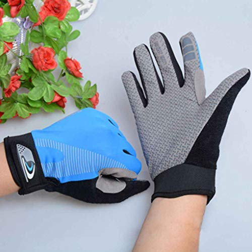 Nowear Touch Screen Unisex Handschuhe Breath Abgrifffeste Sports volle Finger-Handschuhe (Volle Finger-kompression Handschuhe)