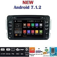 Android 7.1GPS DVD USB SD Wifi BT radio 2DIN navegador Mercedes Clase C W203Clase CLK W209//Clase A W168/Clase G W463/Clase E W210/Vito/Viano/