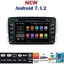 ANDROID 7.1 GPS DVD USB SD WI-FI BT autoradio 2 DIN navigatore Mercedes classe C W203 / classe CLK W209 / classe A W168 / classe G W463 / classe E W210 / Vito / Viano /