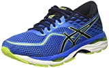 ASICS Herren Gel-Cumulus 19 Laufschuhe, Blau (Indigo Blue/Black/Safety Yellow 4990), 48 EU