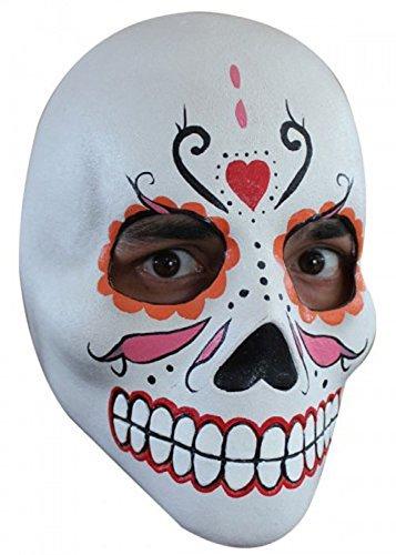 Deluxe mexikanischen Tag der Toten Skull Maske Skull Deluxe Maske
