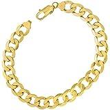 Citerna Men's 9 ct Yellow Gold 28.1 g Curb Bracelet