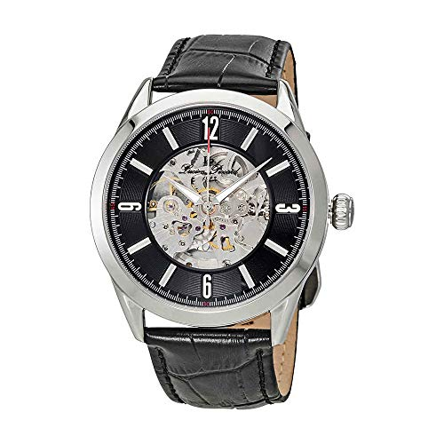 Lucien Piccard Loft Automatic Skeleton Dial Mens Watch LP-10660A-01-W