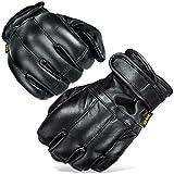 Black Snake Herren Quarzsandhandschuhe Quarzsand Handschuhe S-XXL Defender in schwarz Security Schwarz/Kevlar L