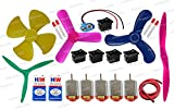 #9: PGSA2Z Electronics 30 Items Loose Parts Materials Science Project Kit