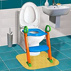 8ea1009375e 58%off Kids Potty Training Seat with Step Stool Ladder for Child Toddler  Toilet Chair